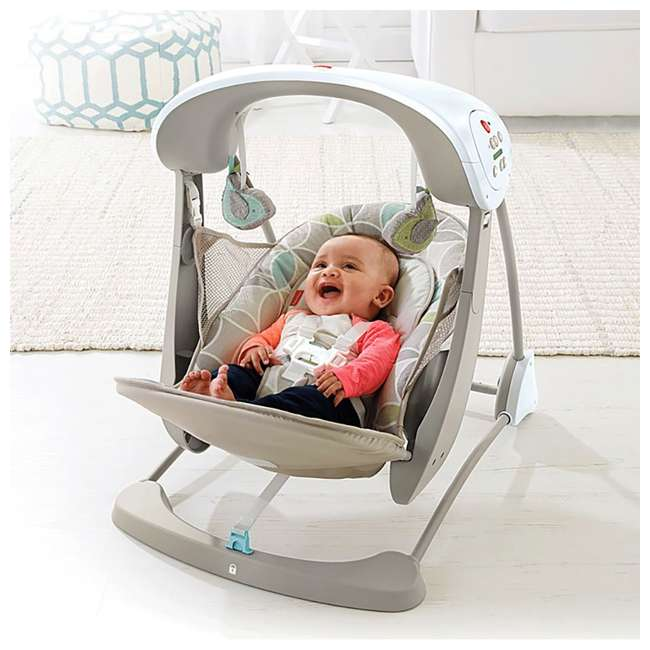 Fisher Price Deluxe Portable Take Along Baby Swing And