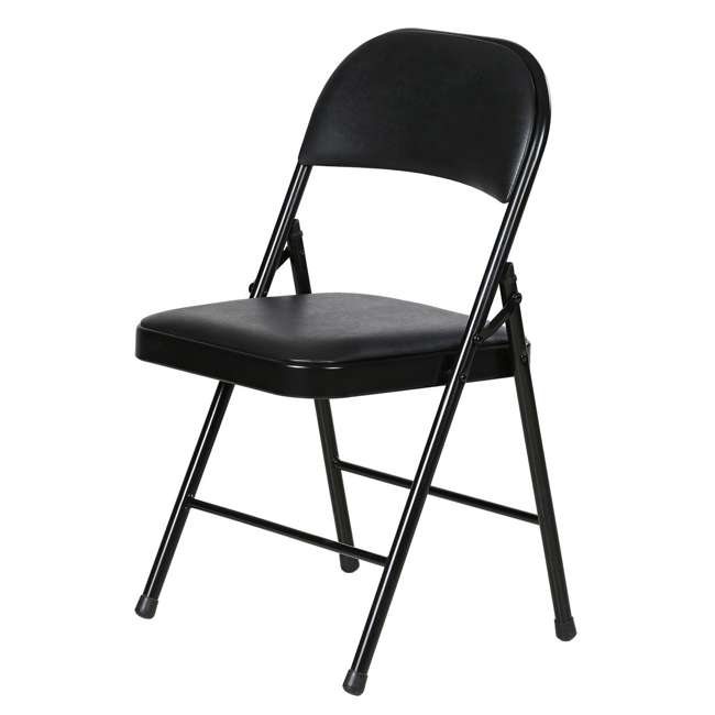 TGT8104PK Plastic Development Group Indoor Metal Padded Folding Party Chair (4 Pack) 2