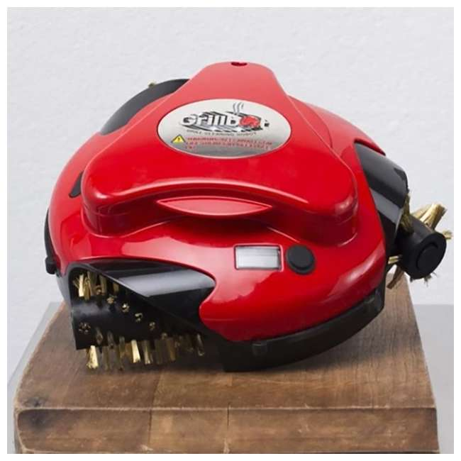 GBU101 + GBS202 Grillbot Automatic Grill Cleaning Robot & Replacement Stainless Steel Brushes 2
