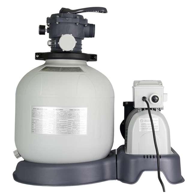 28651EG-U-A Intex  Krystal Clear Above Ground Pool Sand Filter Pump  |   (Open Box) (2 Pack) 1