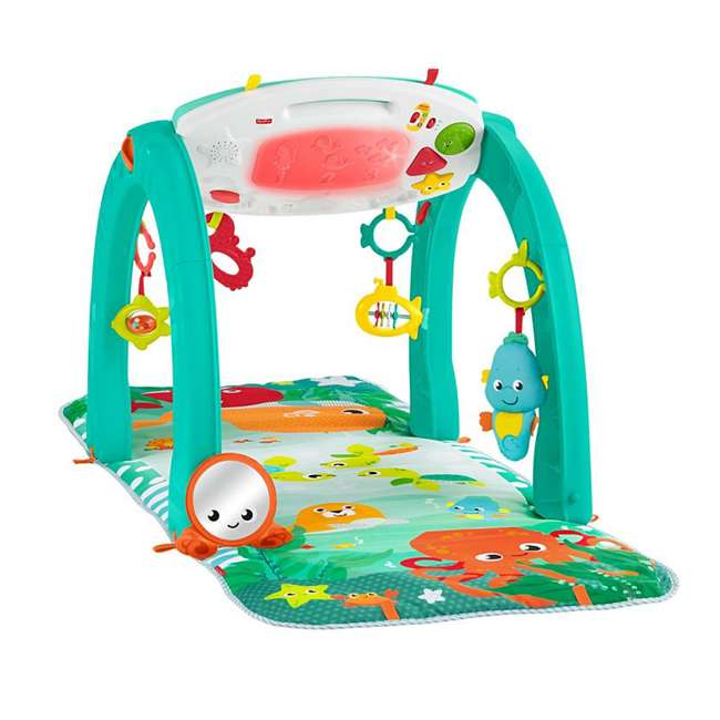 FXT05 Fisher Price 4 in 1 Ocean Infant to Toddler Baby Activity & Learning Play Center