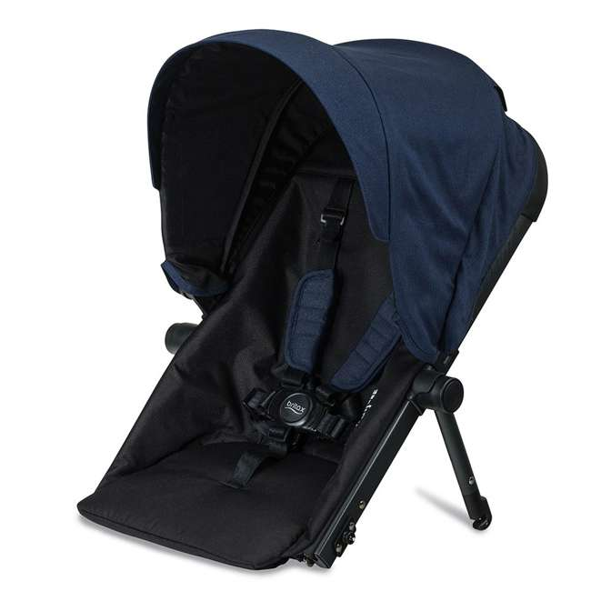 U911933 + S03634300 + S934100 Britax B Ready Folding Baby Stroller, Second Seat Conversion, and Snack Tray 4