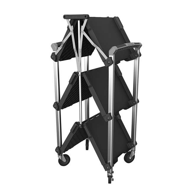 85-189 Olympia Tools 85-189 Pack n Roll XL Collapsible Storage Service Cart with Wheels 2