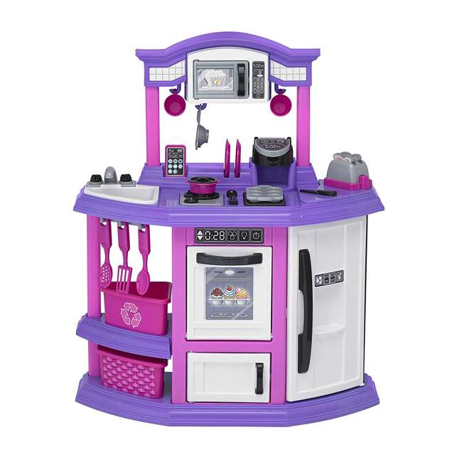 APT-11710 American Plastic Toys Kids First Bakers Kitchen Playset with 22 Accessories