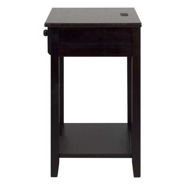 647-23 Casual Home Night Owl Nightstand with USB Ports 1