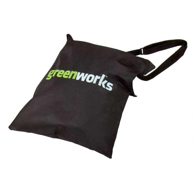 24022 Greenworks 12 Amp Corded Blower/ Vacuum 2