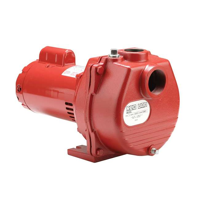RL-SP200-U-C Red Lion 2 HP 80 GPM Cast Iron Irrigation Sprinkler Pump (2 Pack) (For Parts) 1