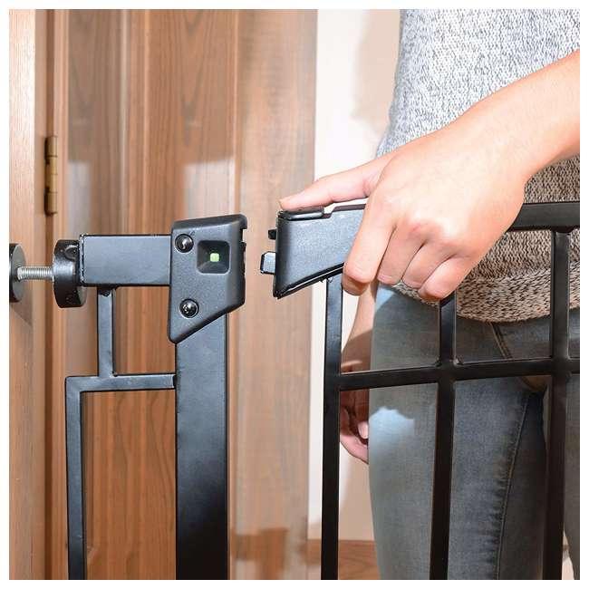 4471110 36-Inch Adjustable Baby & Pet Safety Gate, Black 7