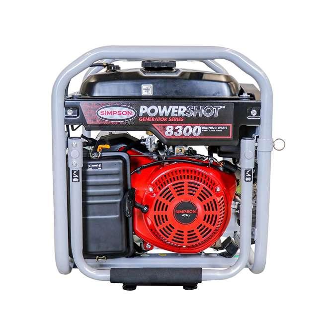 SMPSN-GN-SPG8310E-70008 Simpson SPG8310E 8,300-Watt Portable Heavy-Duty Generator 4