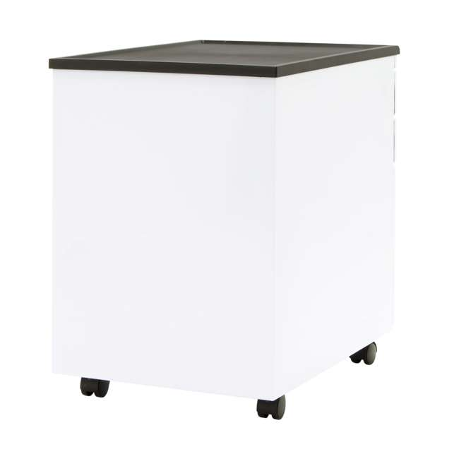 4 x STDN-51103BOX Calico Designs Office Storage Mobile File Cabinet (4 Pack) 4