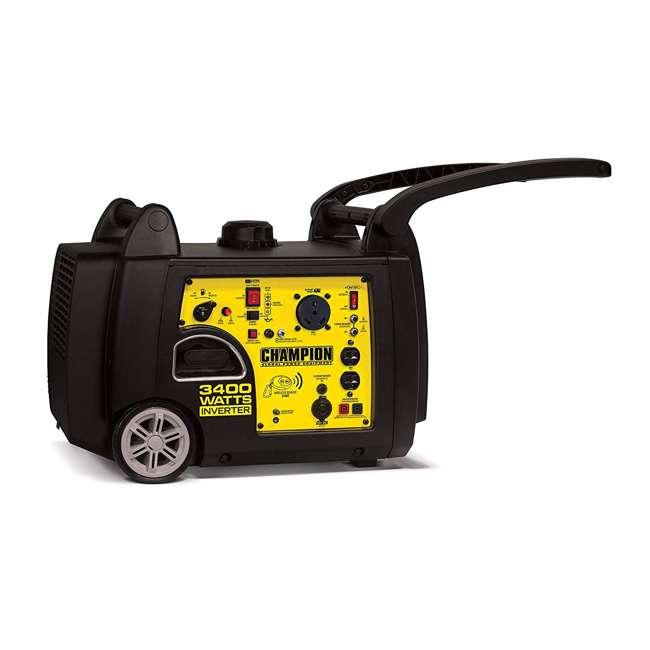 CPE-GN-100261 Champion 100261 34000-Watt Portable Wireless Electric Start Inverter Generator 2