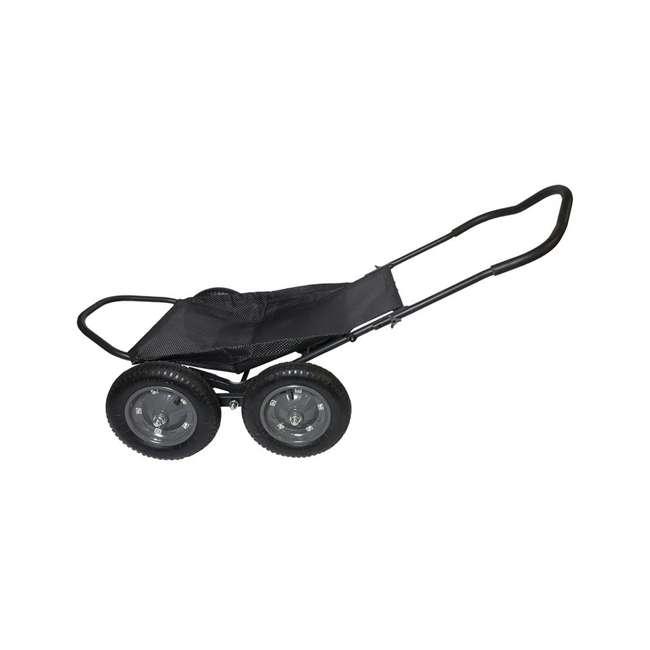HWK-HA3420 Hawk Crawler 500 Pound Capacity Foldable Multi Use Game Recovery Cart, Black