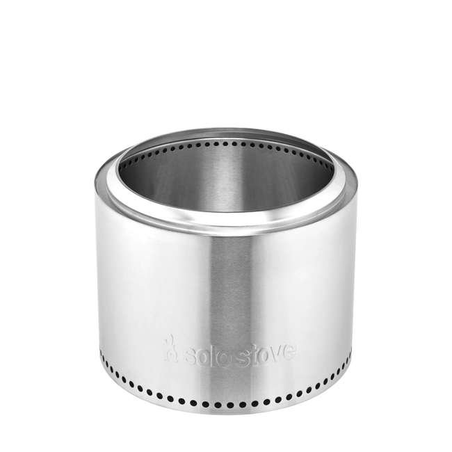 SSBON Solo Stove Outdoor Campsite Doubled Walled Stainless Steel Portable Bonfire 1