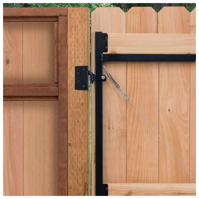 """5 x AG36-3 Adjust-A-Gate Steel Frame Gate Kit, 36""""-60"""" Wide Opening Up To 7' High (5 Pack) 4"""