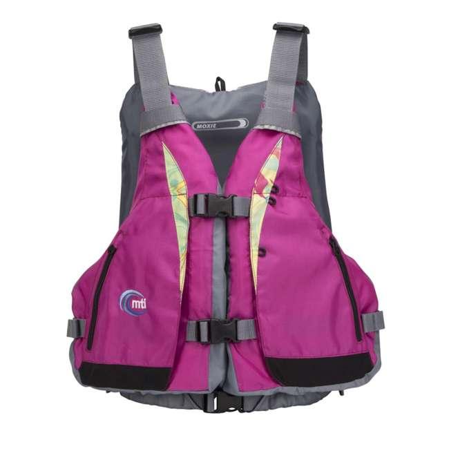 MTI-807J-0PS45 MTI Life Jackets Moxie Adult M/L Life Vest, Berry