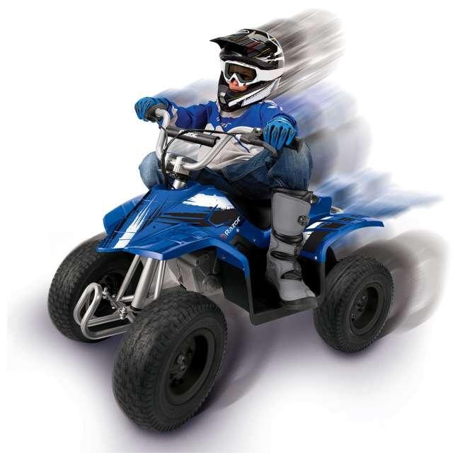 25143042 Razor Kids Electric Off Road Dirt Quad 4-Wheeler ATV, Blue 1