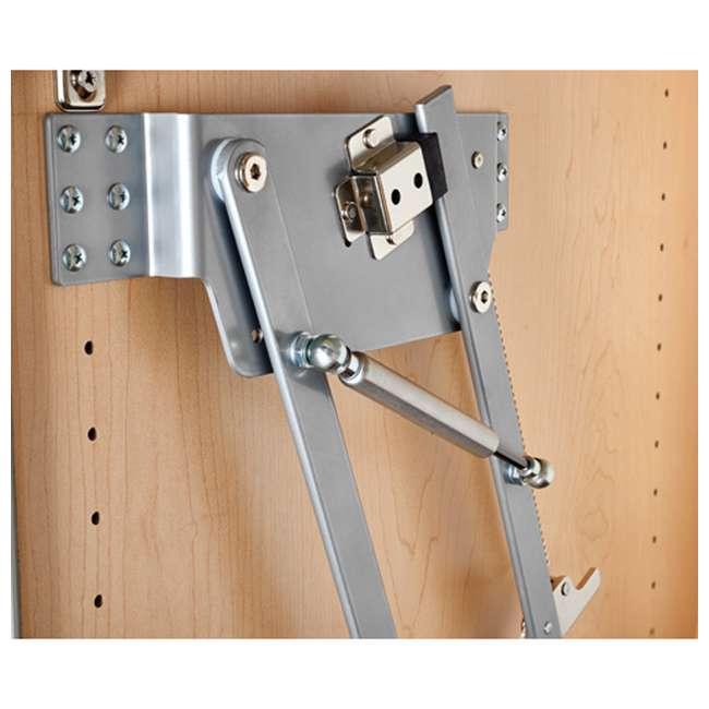 RAS-ML-HDSC Rev-A-Shelf 5CW2 Series 21 Inch 2 Tier Wire Organizer for Cookware, Chrome 2