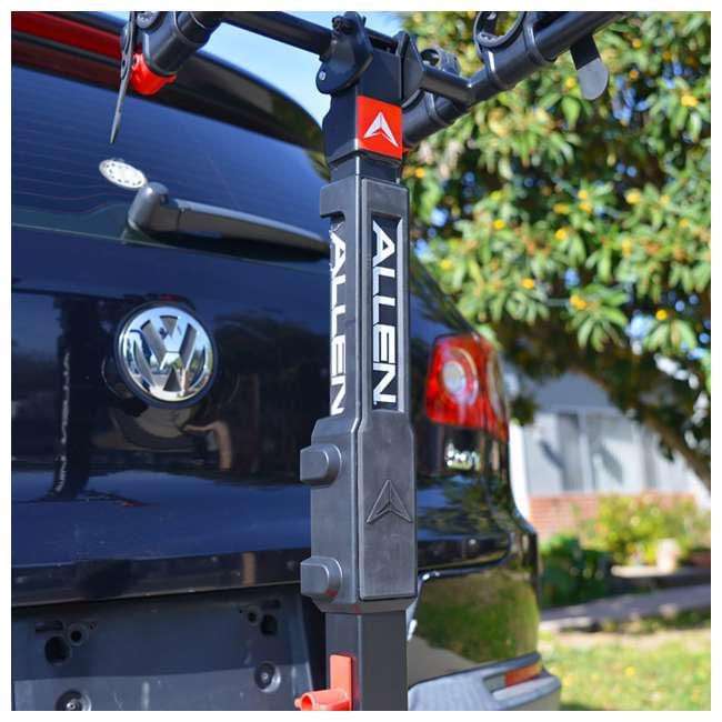 QR555-U-C Allen Sports Premier 5 Bike Locking 2 Inch Hitch Carrier (For Parts) 2