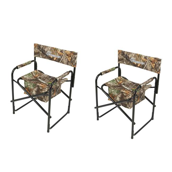AMERI-AMEFT1004 Ameristep Quiet Director Lawn Chair,Camouflage  (2 Pack)