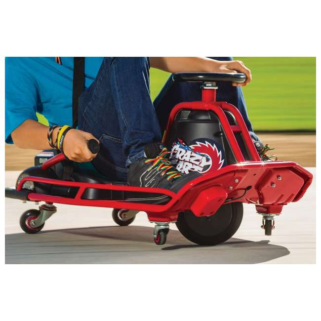 25143499 Razor Crazy Cart Electric 360 Spinning Drifting Ride On Go-Cart  2