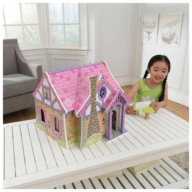 KDK-65930 KidKraft Enchanted Forest Wooden Dollhouse 3