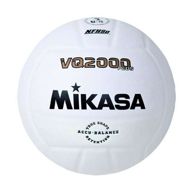 BCSPSH-ROY + 12 x VQ2000 Mikasa Volleyball Cart, Blue w/ Size 5 Volleyball (12 Pack) 2