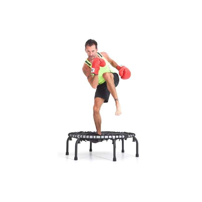RBJ-U-12024-00 JumpSport 350f Indoor Lightweight 39-Inch Folding Fitness Trampoline, Black 4