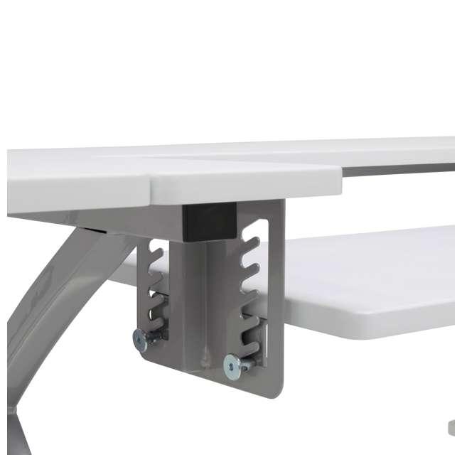 STDN-38018 Sew Ready STDN-38018 Venus Sewing Machine Craft Table Computer Desk, Silver 10