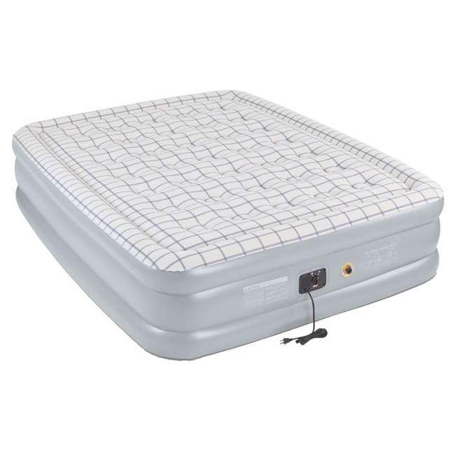 coleman premium quickbed double high pvc queen airbed. Black Bedroom Furniture Sets. Home Design Ideas