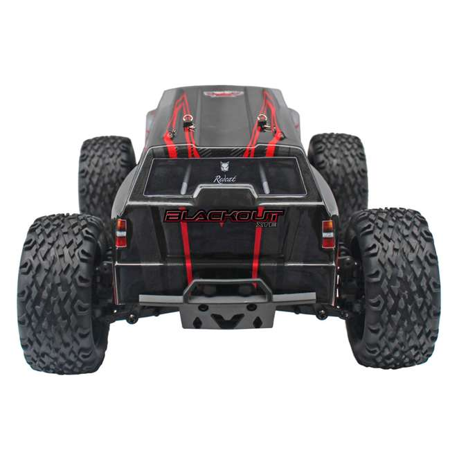 4 x BLACKOUT-XTE-SILVERSUV Redcat Blackout XTE Electric RC Monster Truck SUV (4 Pack) 5