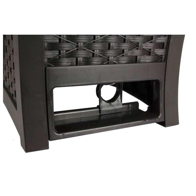 RSW125D-U-A Suncast 125 Ft Garden Hose Wicker Reel Touch and Go - Mocha (Open Box) (2 Pack) 2