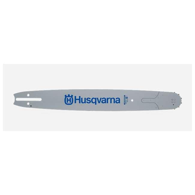 HV-PA-531301150 Husqvarna 24 Inch Chainsaw Bar HT-338 3/8 Inch 0.058 Inch Gauge, Gray