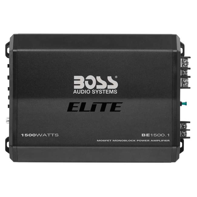 BE1500.1 Boss Audio Systems Elite Monoblock Power Amplifier 4
