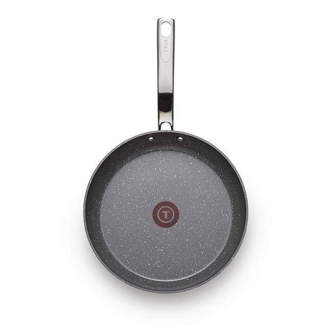 C4120564 T-Fal Endura Granite Nonstick Dishwasher Safe 10.5 Inch Ceramic Fry Pan, Gray