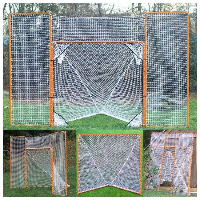 NEOP-87771 EZ Goals Foldable Lacrosse Goal (2 Pack) 2