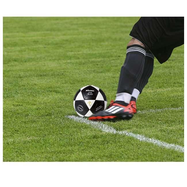 SWL62-BY + SWL62-YBK + SWL62-WBK Mikasa Leather Futsal Indoor Soccer Ball with 2 Mini Balls 8