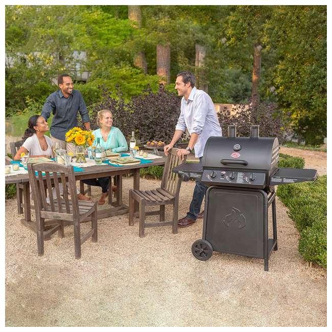 CHAR3001 Char Griller 3-Burner Grillin' Pro Propane Gas Grill 8