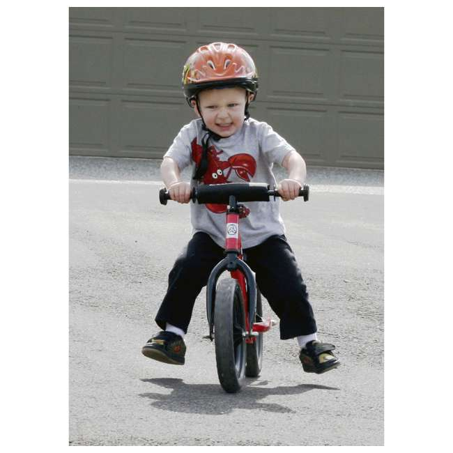 ST-S4RD Strider 12 inch Sport Toddler Training Adjustable Balance Bike, Red (2 Pack) 4