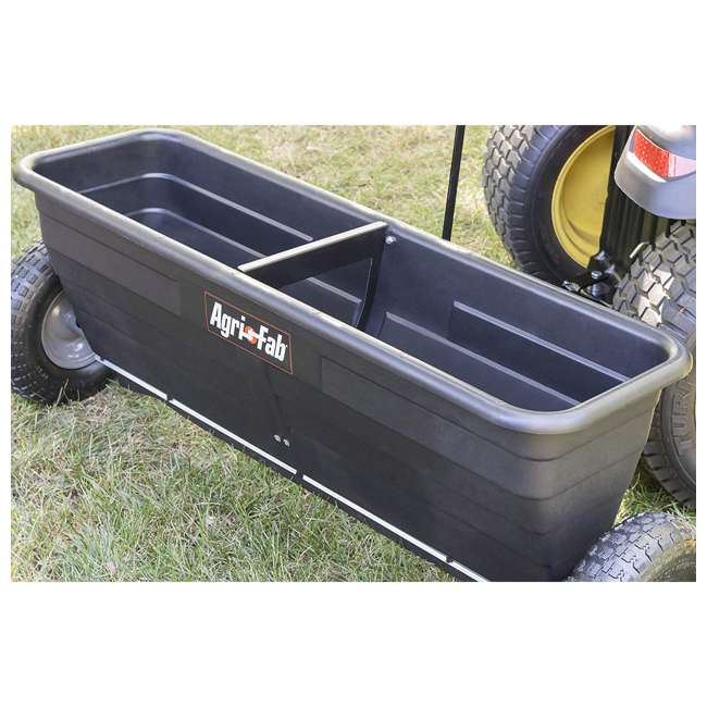 45-0288 Agri-fab 175 Pound Capacity Tow Drop Spreader 3