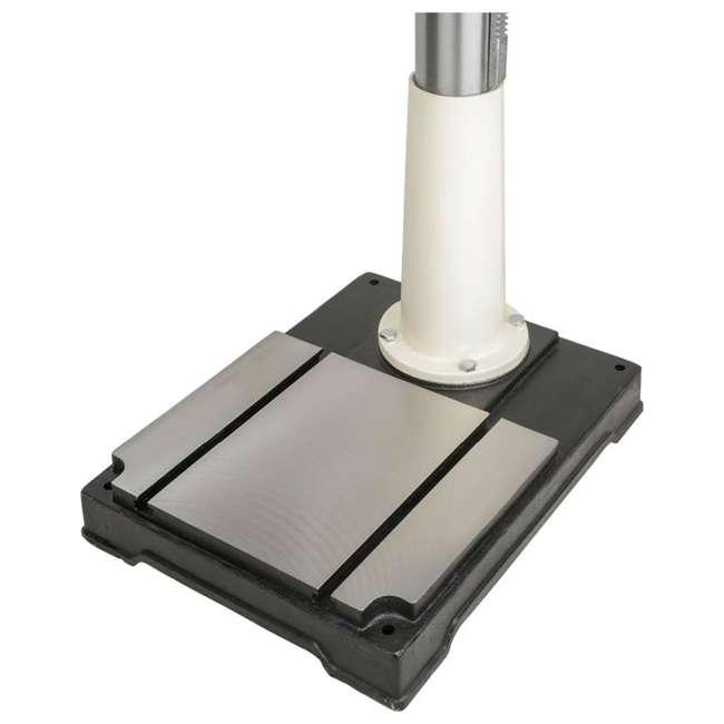 M1039 Shop Fox M1039 20 Inch 1.5 Horsepower Floor Drill Press with Work Light, White 2