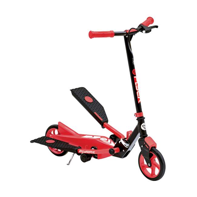YFLYER-100739-U-A Yvolution Y Flyer Kids Childrens Youth Stepper Scooter, Ages 7+, Red (Open Box)