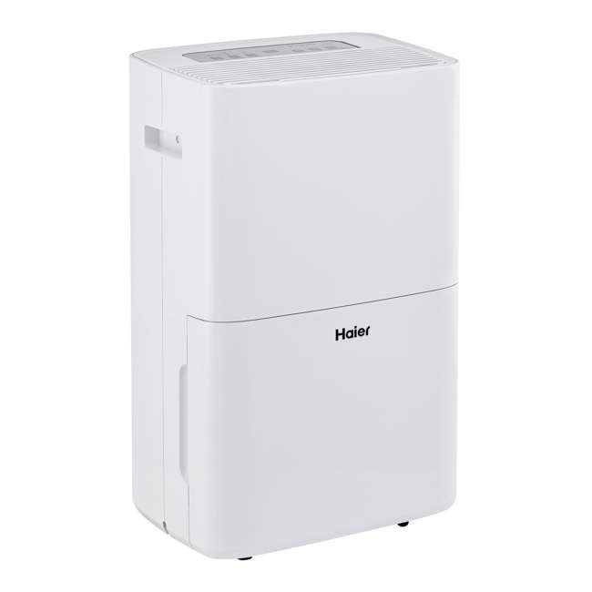 HEN70ETF-U-B Haier 70-Pint 2-Speed Digital Control Portable Dehumidifier 1