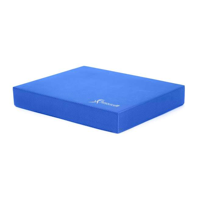 ps-1040-bp-l-blue Prosource Fit Foam Exercise Stability Physical Therapy Balance Pad Mat, Blue 1