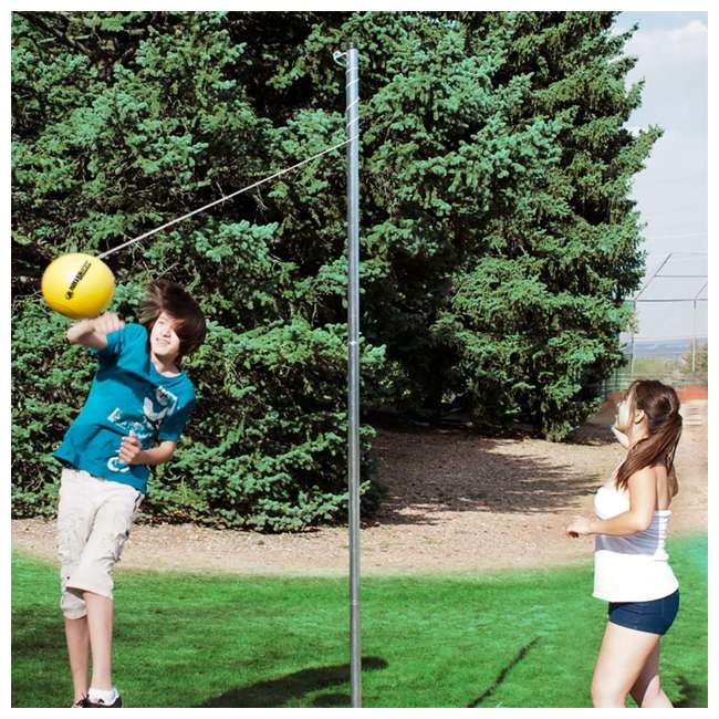 TP-158 Park & Sun Sports Outdoor 2-Pole Tetherball Set 3