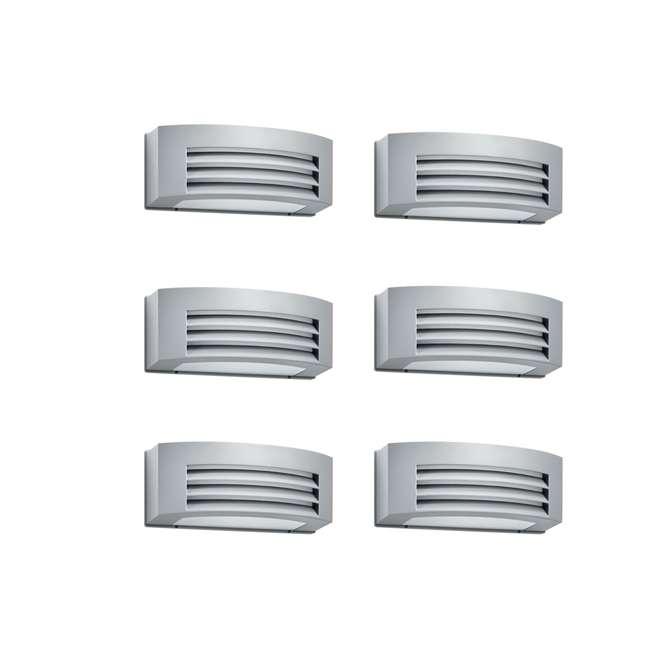 6 x PLC-171058748 Philips 24-Watt 1-Light Outdoor Wall Mount Light Fixture (6 Pack)