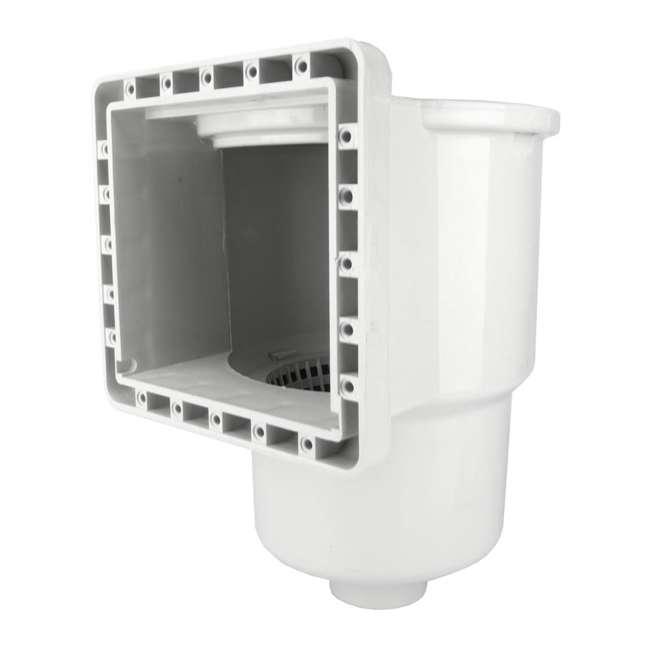 8940-U-B Hydrotools Standard ABS Thru-Wall Pool Skimmer (Used) (2 Pack) 4