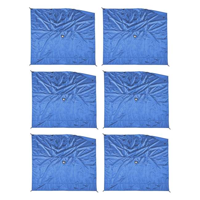 CLAM-WP-ESS-14205 Clam Quick-Set Blue Wind Panels, Accessory Only (6 Pack)