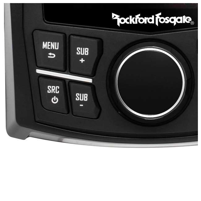 PMX-1R Rockford Fosgate Punch Marine Full-Function Wired Remote Display 1