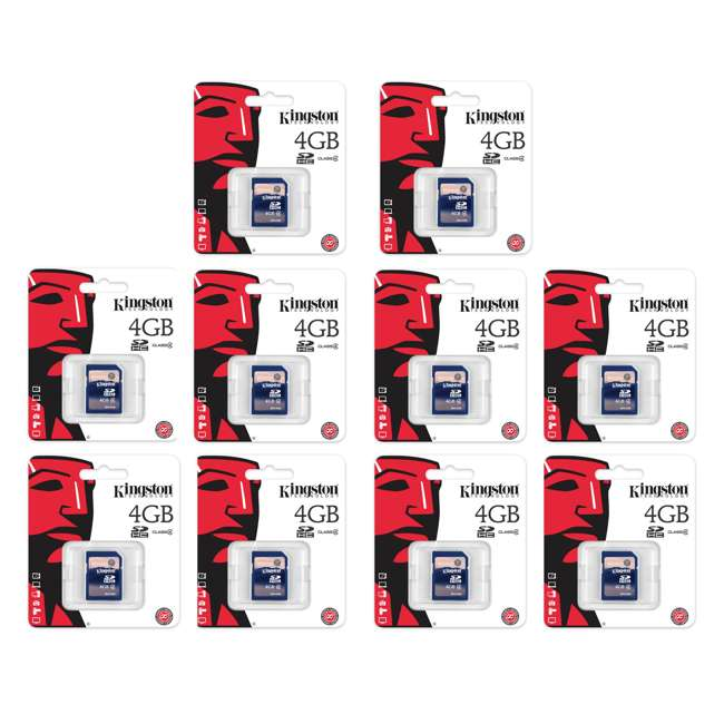 10 x SD4GB Moultrie SD Card MFH-SD4GB 4GB Memory (10 Pack)