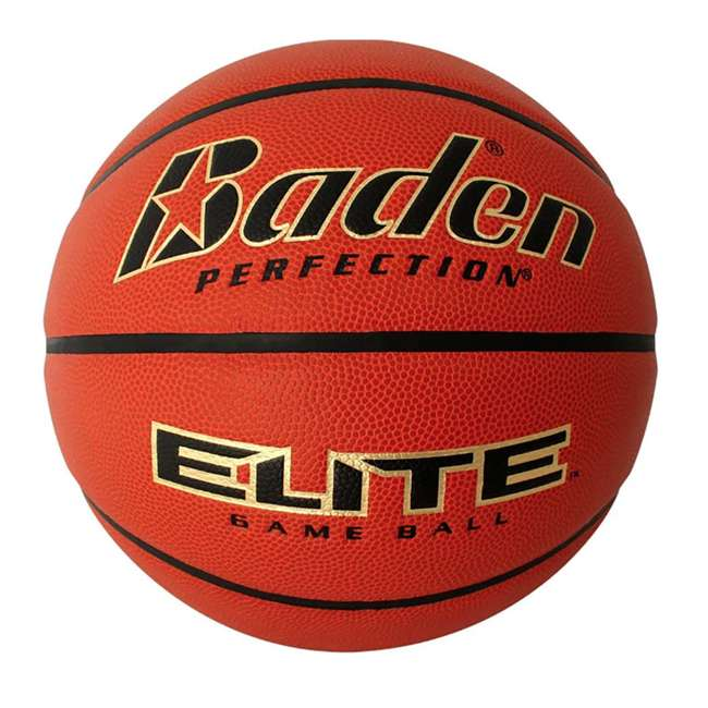 BX6E-02C-F Baden Microfiber Cover 28.5 Inch Elite Indoor Womens Game Basketball, Size 6